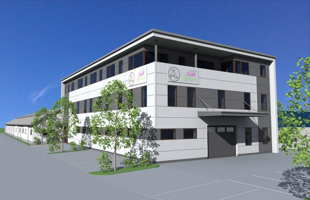 Szafi-Fitt bővítés tervezési munkálatai 1500 m2