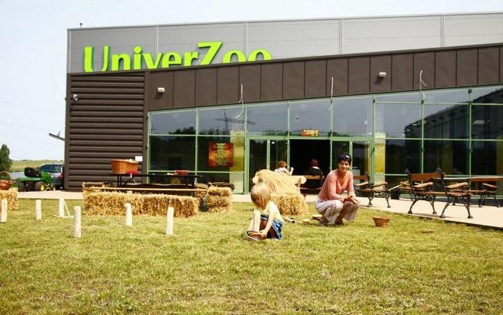 Univerzoo áruház és élménypark 9400 m2